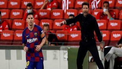 صورة رحيل ميسي عن برشلونة سيضع سيميوني في القمة