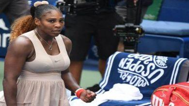 صورة انسحاب سيرينا من بطولة إيطاليا المفتوحة