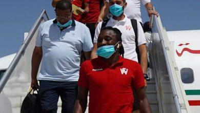 صورة بعثة الوداد تشد الرحال إلى مصر
