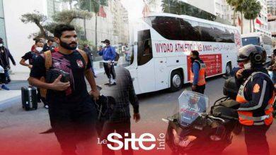 صورة قمة دوري الأبطال.. الوداد والأهلي يتوجهان إلى مركب محمد الخامس -فيديو