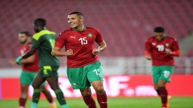"""صورة أملاح: """"سعيد بهدفي الأول مع المنتخب الوطني.. وأحلم بتحقيق لقب أمم إفريقيا"""""""
