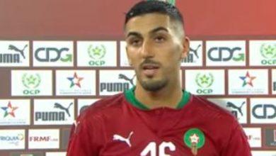 """صورة برقوق: """"قدمنا مباراة جيدة وسعيد بالفوز على منتخب قوي كالسنغال"""""""