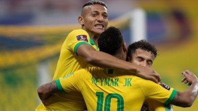 صورة البرازيل تفتتح تصفيات كأس العالم بخماسية في مرمى بوليفيا