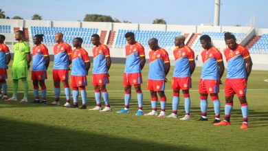 صورة نغوما وكازادي أساسيان في تشكيلة الكونغو أمام الأسود