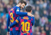 صورة بيكيه يتحدث عن مستقبل ميسي مع برشلونة