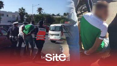 صورة اعتقالات في صفوف جمهور الرجاء بعدما حاولوا التجمهر أمام فندق الفريق الأخضر بالبيضاء- فيديو