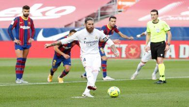 """صورة """"الكلاسيكو"""".. ريال مدريد ينتصر على برشلونة بثلاثية"""