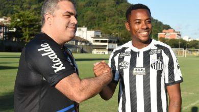 صورة روبينيو يعود إلى الدوري البرازيلي من بوابة سانتوس
