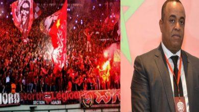 صورة جماهير الوداد تقود حملة موجهة إلى رئيس الفريق