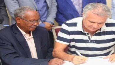 صورة رسميا.. زوران يوقع لنادي الهلال السوداني