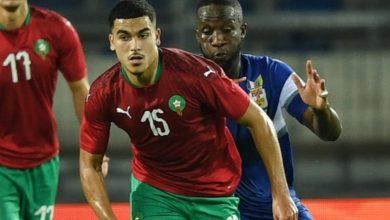صورة هذا ما قاله أبوخلال بعد ظهوره بقميص المنتخب الوطني لأول مرة- صورة