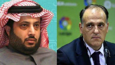 """صورة رئيس """"الليغا"""" مهاجما آل الشيخ: """"يعتقد أنه يستطيع التوقيع مع من يريد"""""""