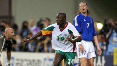 صورة وفاة صاحب هدف انتصار السنغال على فرنسا في مونديال 2002