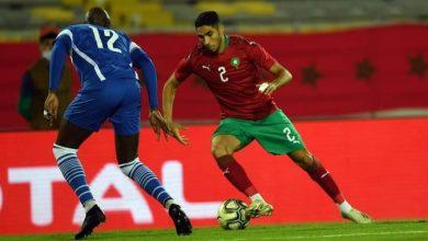 صورة الشكوك تحوم حول مشاركة حكيمي في مباراة الإياب أمام إفريقيا الوسطى