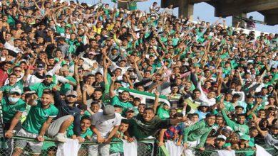 صورة جماهير النادي القنيطري غاضبة من إدارة فريقها