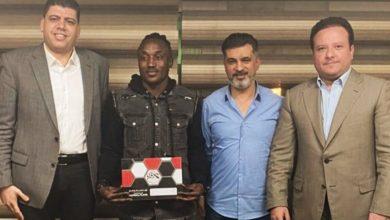 صورة كازادي يوقع رسميا للنادي المصري