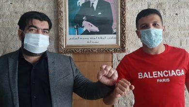 صورة هشام الخلوة يكشف أسباب اختياره اللعب للمغرب التطواني -فيديو