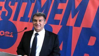 صورة لابورتا يترشح رسميا لرئاسة برشلونة