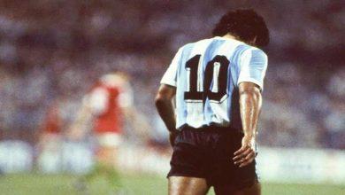 """صورة دعوة لـ""""الفيفا"""" بسحب الرقم 10 من جميع أندية ومنتخبات العالم تكريما لـ""""مارادونا"""""""