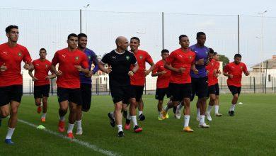 صورة جامعة الكرة تكشف عن برنامج معسكر المنتخب المغربي