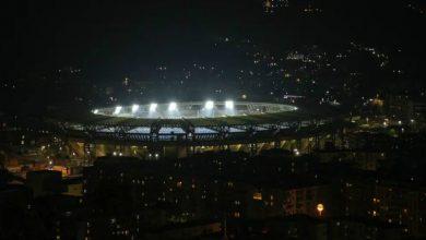 """صورة إطلاق إسم """"دييغو أرماندو مارادونا"""" على ملعب نابولي"""