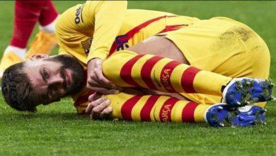 """صورة تقارير: """"الإصابة قد تجبر بيكي على الاعتزال"""""""