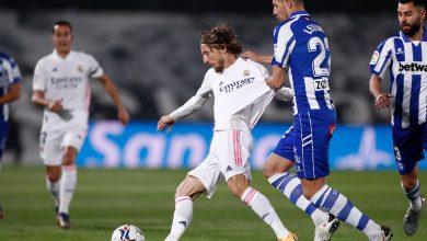 صورة ألافيس يقهر ريال مدريد بعقر داره -فيديو