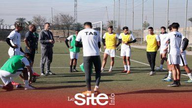 """صورة في أول مشاركة قارية.. استعدادات الاتحاد البيضاوي لمواجهة فريق غامتيل في """"الكاف""""-فيديو"""