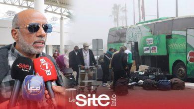 صورة من مطار محمد الخامس.. سعيد وهبي يكشف جديد الرجاء قبل مواجهة الزمالك- فيديو