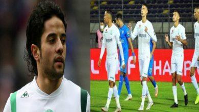 """صورة زمامة لقناة مصرية: """"لاعبو الرجاء يستوعبون المسؤولية الملقاة على كاهلهم"""""""