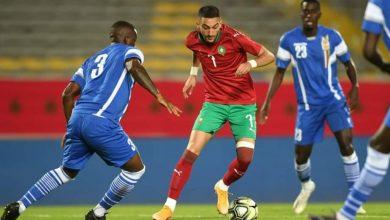 صورة الموعد والقناة الناقلة لمباراة المنتخب المغربي وإفريقيا الوسطى