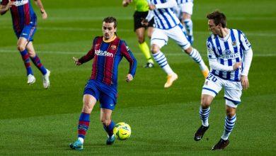 صورة برشلونة يتفوق على سوسيداد بثنائية -فيديو