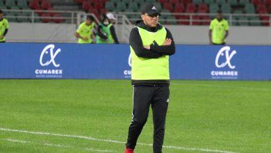 """صورة مدرب المحمدية: """"الفريق يمكنه المنافسة على اللقب"""""""