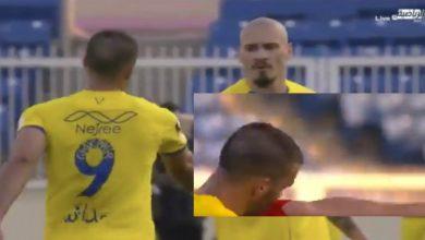 صورة حمد الله يثير الاستغراب بردة فعله في لقاء النصر وأبها- فيديو