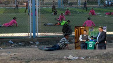 """صورة بعد انتشار صور تقليده لتداريب براعم الفريق.. المقاصة يعلن تعاقده مع الطفل """"يوسف"""""""
