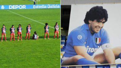 صورة لاعبة إسبانية تتلقى تهديدات بالقتل بعد رفضها الوقوف دقيقة صمت حدادا على وفاة مارادونا