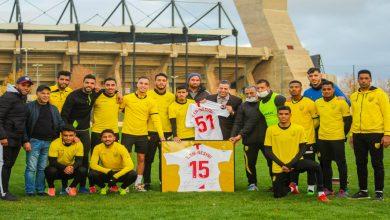 صورة النصيري يقدم هدية للمغرب الفاسي على صعوده للقسم الأول من البطولة الوطنية