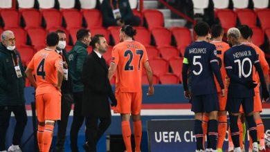 """صورة """"العنصرية"""" تتسبب في توقف مباراة باريس سان جيرمان وباشاك شاهير"""