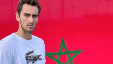 صورة لاعب تنس يختار تمثيل المغرب على حساب فرنسا
