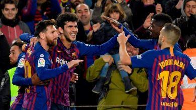 صورة رسميا.. لاعب برشلونة يرحل إلى خيتافي