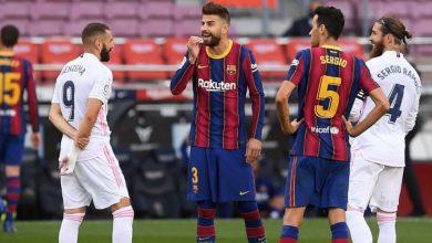 """صورة """"الكلاسيكو"""".. الموعد والقنوات الناقلة لمباراة ريال مدريد وبرشلونة"""