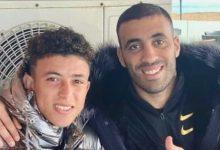 صورة مستغلا فترة علاجه بالمغرب.. بنيشو يلتقي بحمد الله
