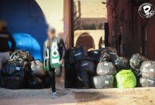 """صورة في بادرته الإنسانية.. """"غرين بويز"""" يُطالب السلطات بالسماح بتنقل أعضاء قافلة """"الدفء"""""""