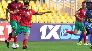 """صورة الكرتي: """"الخصم ركن للدفاع بشكل كبير ونعد الجماهير المغربية بتقديم مستويات أفضل"""""""