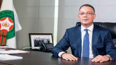 """صورة بعد تحقيق الـ""""شان"""".. لقجع يكشف عن الهدف القادم للكرة المغربية"""
