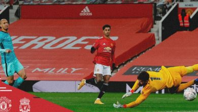 """صورة فيرنانديز يحسم قمة مانشستر يونايتد وليفربول لصالح """"الشياطين الحمر"""" -فيديو"""