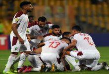"""صورة كأس """"العرب"""" للمنتخبات.. نجمان من خارج """"البطولة"""" حاضران مع """"أسود"""" عموتة"""