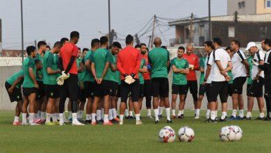 صورة المنتخب المغربي المحلي يُجري حصته التدريبية الأخيرة قبل مواجهة أوغندا