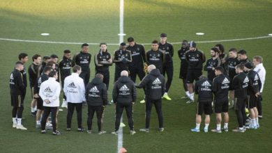"""صورة بسبب """"كورونا"""".. ريال مدريد يخسر خدمات مدافعه في لقاء كأس ملك إسبانيا"""