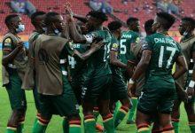 """صورة زامبيا تضرب موعدا مع المنتخب المغربي للمحليين في دور ربع النهائي من """"الشان"""""""